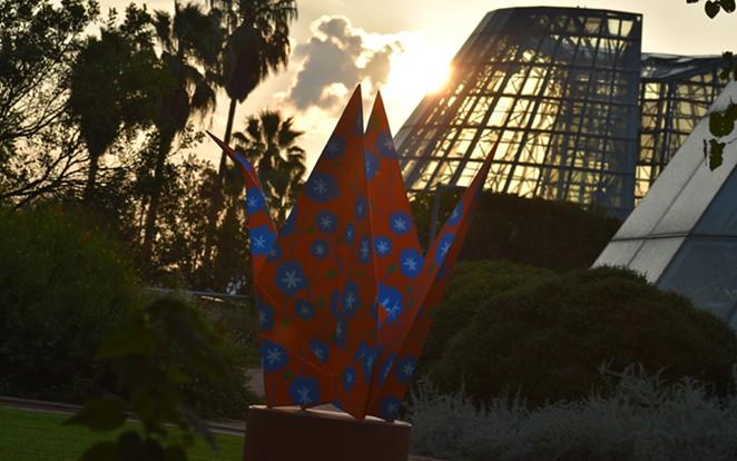 """OrigamiintheGarden²"" will be on view at the Botanical Garden through May 1. - COURTESY OF THE SAN ANTONIO BOTANICAL GARDEN"