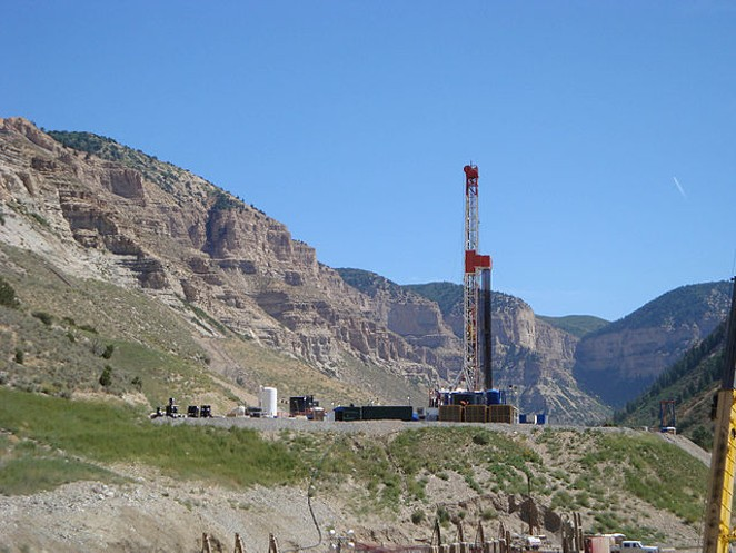 A remote natural gas well releases fossil fuels from under the earth's surface. - WIKIMEDIA COMMONS / NATIONAL INSTITUTE FOR OCCUPATIONAL SAFETY AND HEALTH
