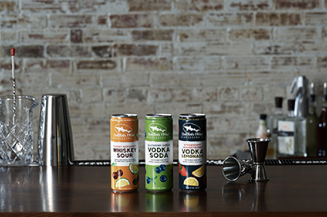 Delaware-based brand Dogfish Head has released a new line of canned cocktails. - PHOTO COURTESY DOGFISH HEAD