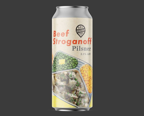 Beef Stroganoff beer: it's what's for dinner. - FACEBOOK / ROADMAP BREWING CO.