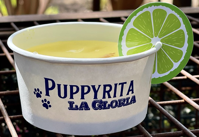 "La Gloria has revealed a new ""Puppyrita"" for four-legged friends. - INSTAGRAM / LAGLORIAPEARL"