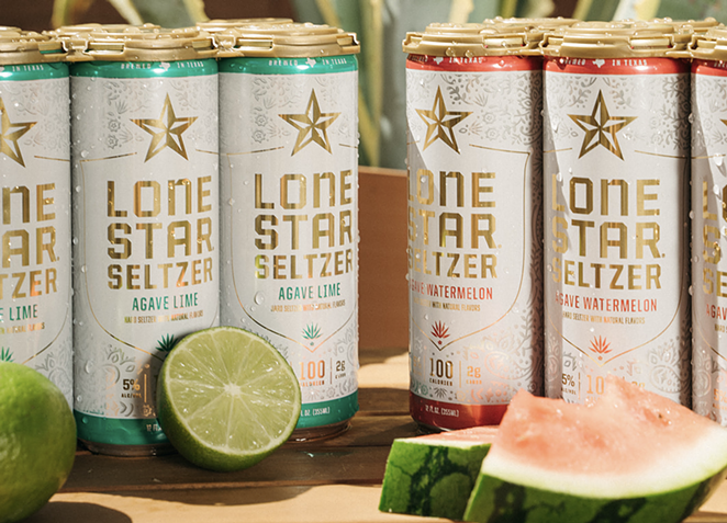 Lone Star Brewing will debut Lone Star Agave Seltzer this month. - PHOTO COURTESY LONE STAR BREWING