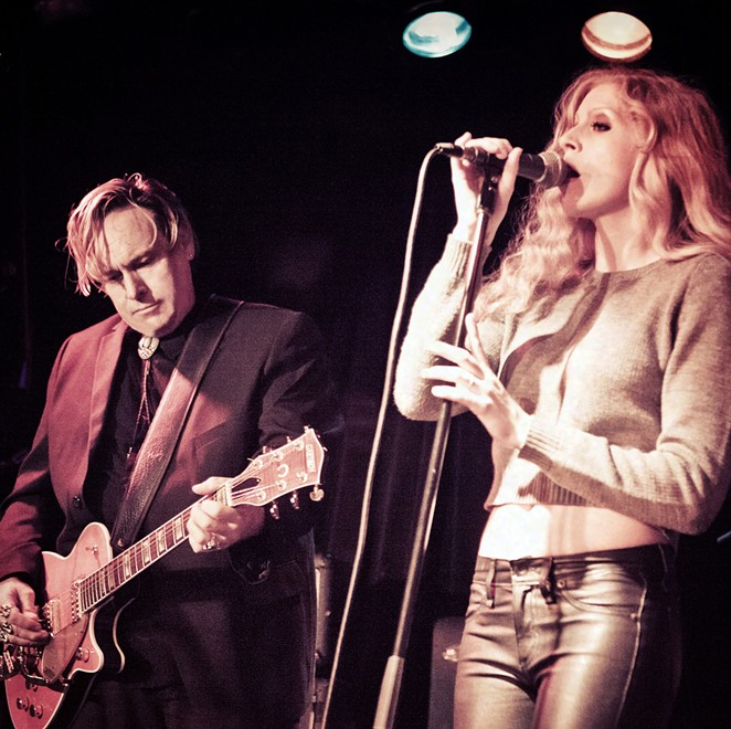 Danny B. Harvey and Annie Marie Lewis share the stage during a gig. - COURTESY PHOTO / DANNY B. HARVEY AND ANNIE MARIE LEWIS