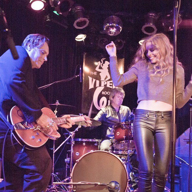 """The husband-and-wife duo Danny B. Harvey and Annie Marie Lewis has been called the """"rock 'n' roll version of Johnny Cash and June Carter."""" - COURTESY PHOTO / DANNY B. HARVEY AND ANNIE MARIE LEWIS"""