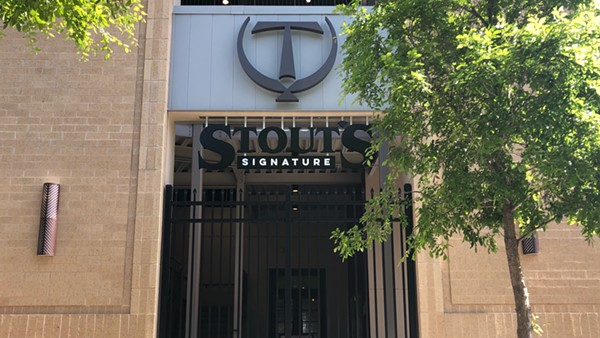 Stout's Signature is taking over a spot attached to the Tobin Center parking garage that sat vacant for three years. - NINA RANGEL