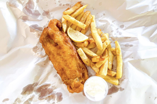 San Antonio will welcome a new English-themed bar serving fish and chips next month. - INSTAGRAM / EATITB
