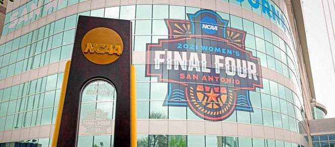 The NCAA held its 2021 women's basketball tournament in San Antonio this spring. - INSTAGRAM / @NCAAWBB