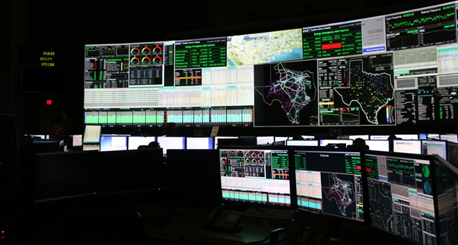 ERCOT staff monitor the state's power grid. - COURTESY OF ERCOT