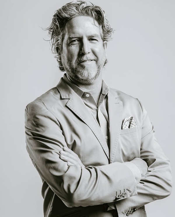 Hugh Daschbach is chief operating officer of local nonprofit Saint City Culinary Foundation and its flagship program HEARD. - COURTESY OF HUGH DASCHBACH