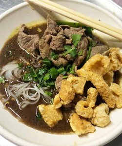 HP's new boat noodles feature beef three ways. - PHOTO COURTESY HELLO PARADISE