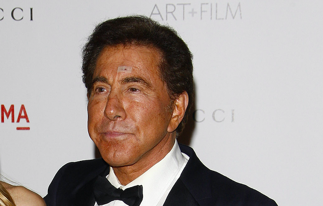 Billionaire Steve Wynn shown during an appearance at the LACMA Art + Film Gala. - SHUTTERSTOCK