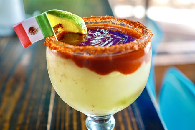Costa Pacifica is offering its Mexican Bandera Margarita as a drink special. - COURTESY COSTA PACIFICA