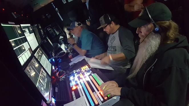 Nelco Media staffers work a broadcast event. - FACEBOOK / NELCO MEDIA