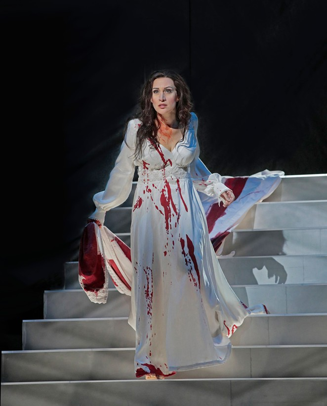 """Soprano Brenda Rae stars as the opera's titular character, and will perform the famous """"Lucia's mad scene."""" - KEN HOWARD"""