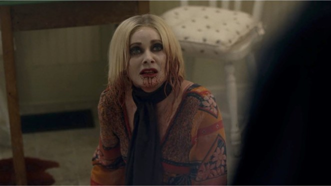 Barbara Crampton stars in new vampire flick Jakob's Wife. - RLJE FILMS