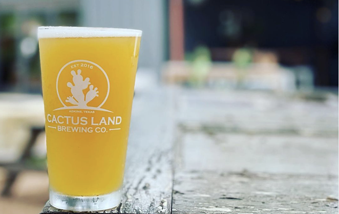 Cactus Land Brewing Co. is looking for local vendors to take part in its seasonal market days. - FACEBOOK / CACTUS LAND BREWING CO.