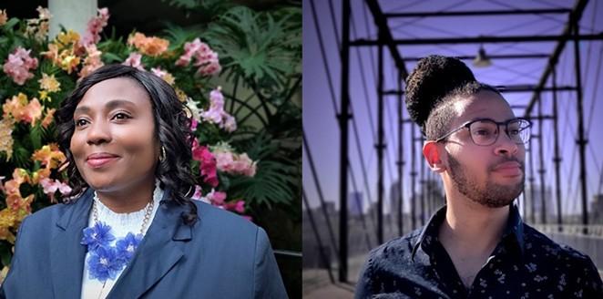 Jada Andrews-Sullivan (left) andJalen Mckee-Rodriguez are in a runoff to represent District 2 on city council. - JADE ESTEBAN ESTRADA