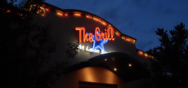 The Grill at Leon Springs was completely decimated by a 2-alarm fire Thursday morning. - THE GRILL AT LEON SPRINGS