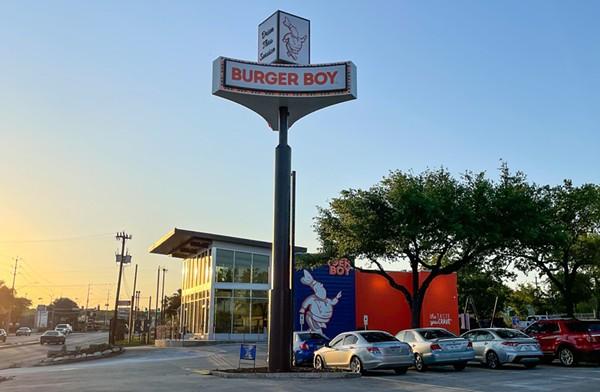 Burger Boy's newest location opened Tuesday. - COURTESY BURGER BOY