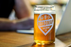 Roadmap released a brew in support of proactive suicide prevention this year. - FACEBOOK / ROADMAP BREWING