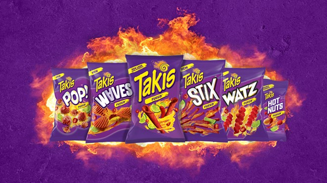 Texas-based Takis has launched a lineup of five new snack categories and a new look. - COURTESY / BARCEL USA, TAKIS