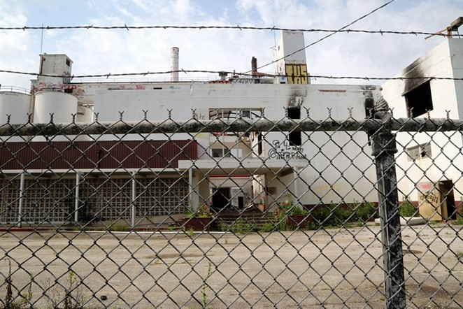 The former Lone Star Brewery is scheduled to be redeveloped by Midway and GrayStreet Partners. - SA HERON / BEN OLIVO