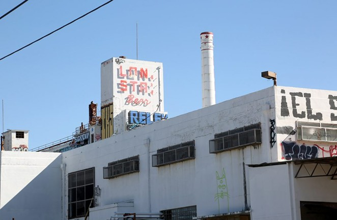 The developers of the Lone Star Brewery are seeking $24 million in city incentives for infrastructure upgrades in and around the 32-acre sire. Photo by Ben Olivo   Heron - SA HERON / BEN OLIVO
