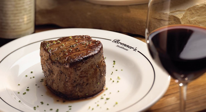 Houston-based Brenner's Steakhouse is planning to bring its upscale, fine dining experience to the Alamo City. - INSTAGRAM / BRENNERSONTHEBAYOU