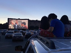 This year's version will also include tailgate areas for each vehicle. - COURTESY PHOTO / THE DRIVE-IN AT LA CANTERA
