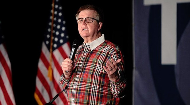 Lt. Gov. Dan Patrick: Would you trust the judgement of a man who picked out this shirt? - WIKIMDIA COMMONS / GAGE SKIDMORE