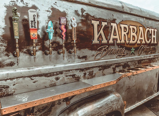 SA-based Cruising Kitchens has debuted a one-of-a-kind mobile taproom for Karbach Brewing. - INSTAGRAM / CRUISINGKITCHENS