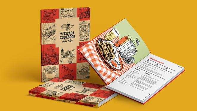 The Cicada Cookbook from Frank's RedHot will be widely available next week. - PHOTO COURTESY FRANK'S REDHOT