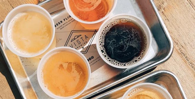 Vista Brewing has opened a San Antonio beer garden and tasting room. - INSTAGRAM / SAYCHEESEHONEY