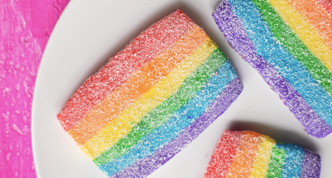 Bakery Lorraine will offer rainbow-themed Pride cookies this month. - PHOTO COURTESY BAKERY LORRAINE