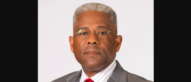 Allen West last week resigned as head of the Texas GOP to help Donald Trump haul his shit from Mar-a-Lago back to the White House. - FACEBOOK / ALLEN WEST