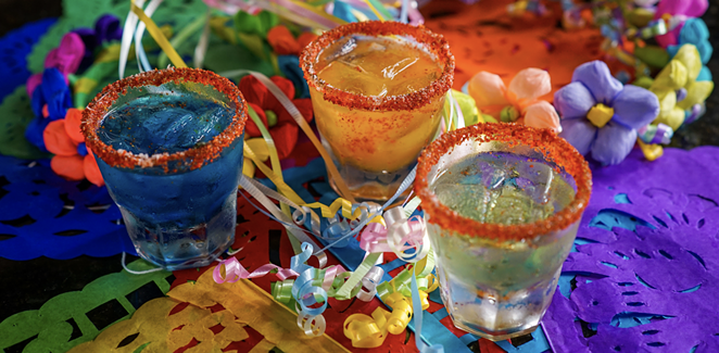 Costa Pacifica will offer a special Fiesta-themed margarita flight from June 17-25. - PHOTO COURTESY COSTA PACIFICA AUTHENTIC MEXICAN CUISINE