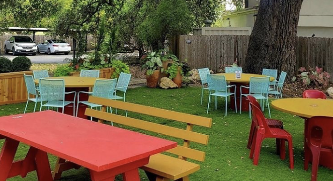 """Bombay Bicycle Club will add an outdoor bar to its spacious """"Oak Room."""" - INSTAGRAM / BOMBAYSA"""