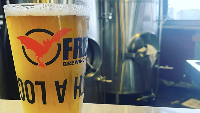 Freetail Brewing has crafted a charitable lager honoring the late John Santikos. - INSTAGRAM / FREETAILBREWING