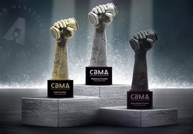 The coveted Crushie Awards. - INSTAGRAM / CRAFTBEERMARKETINGAWARDS