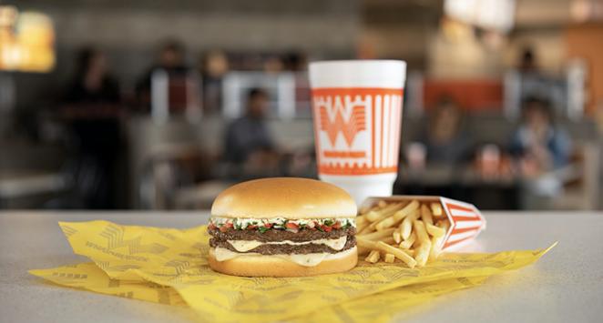Whataburger's seasonal Pico de Gallo burger is now available. - COURTESY WHATABURGER