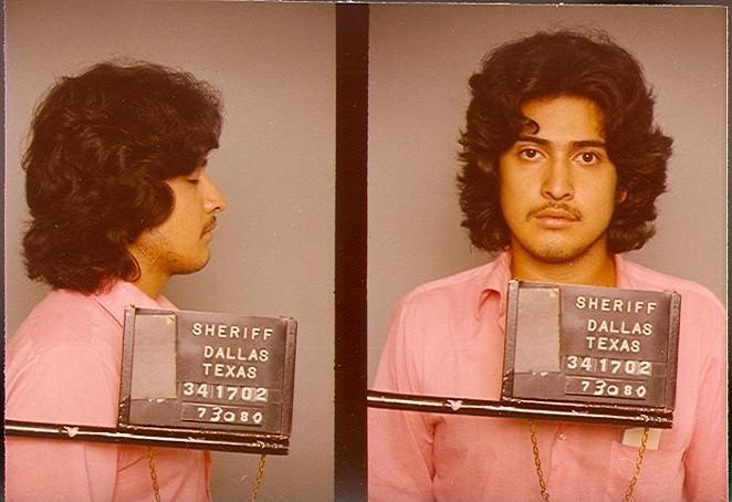 Carlos DeLuna's mugshot in 1980. - THEWRONGCARLOS.NET