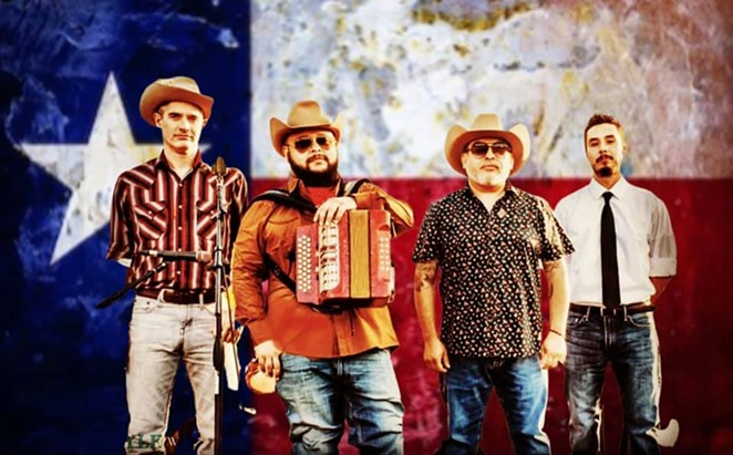 The Squeezebox Bandits will play Sam's Burger Joint on Thursday. - RACHEL DELIRA