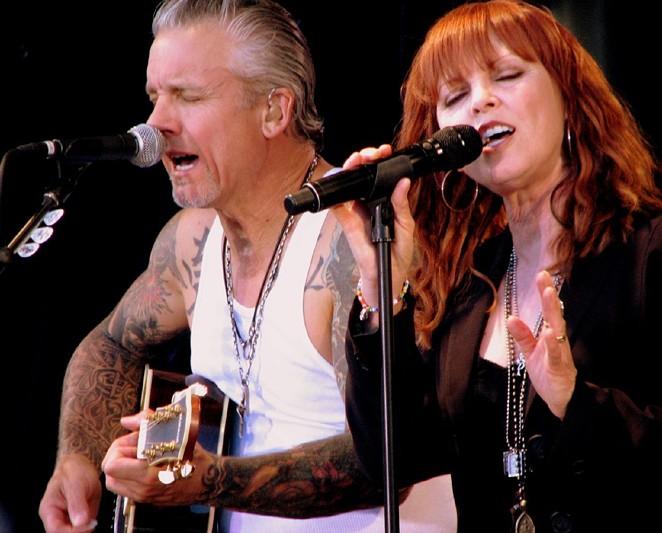 The husband-wife team of Pat Benatar and Neil Giraldo will return to San Antonio this fall. - JESSIE PEARL