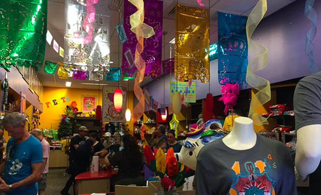 The colorful Fiesta Store is housed inside the building the Fiesta Commission has sold to a local developer. - CURRENT FILE PHOTO