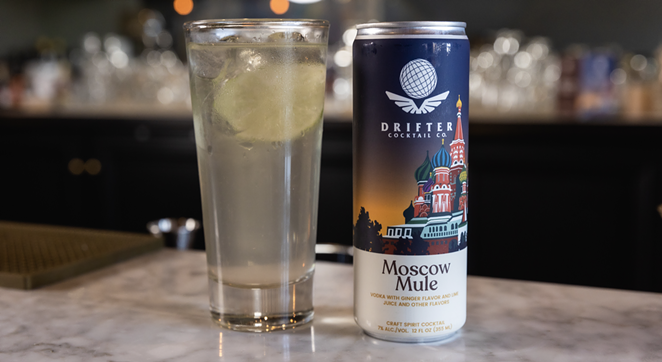 Neff's Moscow Mule features sharp, spicy ginger beer sourced from India. - PHOTO COURTESY DRIFTER CRAFT COCKTAILS