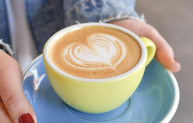 Folks can get a $1 coffee from Revolución Coffee + Juice through July 31. - INSTAGRAM / REVOLUCIONSA