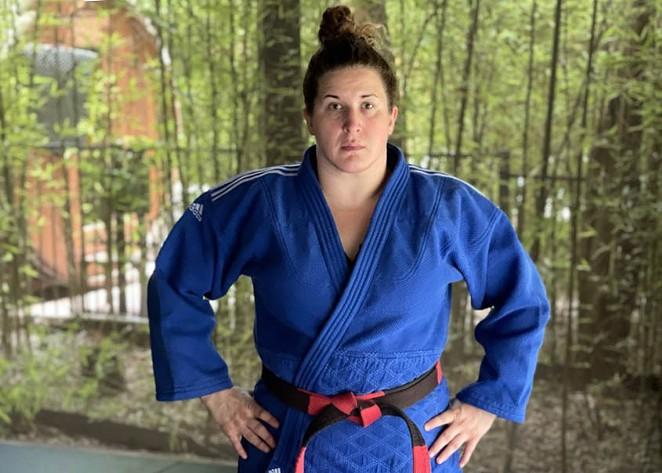 SA-based judoka Nina Cutro-Kelly will be the oldest judo competition in Olympic history. - COURTESY NINA CUTRO-KELLY