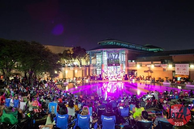 This year's lineup for the Balcones Heights Jazz Festival includes Johnny Britt and the Joe Posada Trio. - COURTESY OF BALCONES HEIGHTS JAZZ FESTIVAL