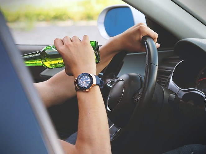 Texas experienced 7.76 drunk driving deaths per 100,000 residents, according to the study. - PEXELS / ENERGEPIC.COM