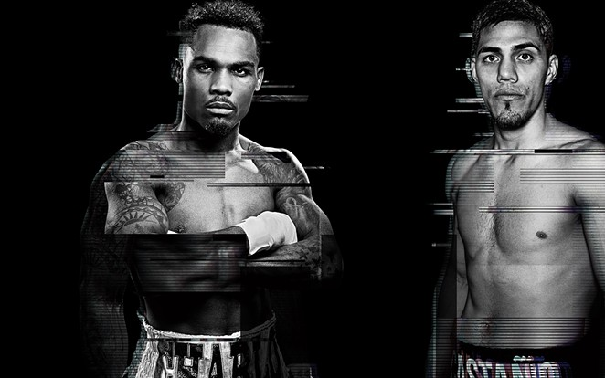 Jermell Charlo (left) and Brian Castaño will fight Saturday, July 17 at the AT&T Center. - SHOWTIME BOXING